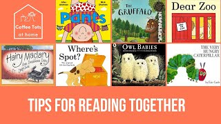 Coffee Tots at home - Tips for reading together