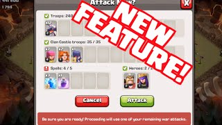 Clash of Clans Update - Clan War Attack Confirmation Screen! thumbnail