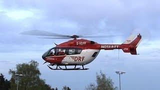Start des Rettungshubschraubers D-HDPP von der DRF Luftrettung in Barsinghausen 7.04.2014