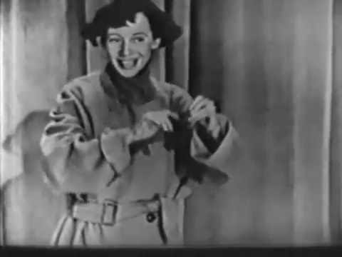 IMOGENE COCA: The Modest Stripper ADMIRAL BROADWAY REVUE, Mar 11 1949