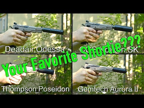 9mm Shorty Suppressor Comparison