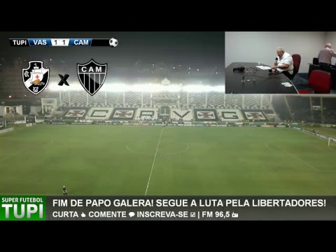 Vasco 1 x 1 Atlético-MG - 35° Rodada - Brasileirão - 15/11/2017 - AO VIVO
