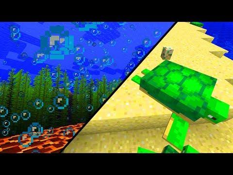 MASSIG NEUE INHALTE! Aquatic Update ist da! - Minecraft Update 1.13 - 18w07a