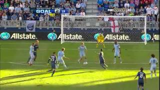 Los Angeles Galaxy vs. Sporting Kansas City - 05/09/11 - [Week 25 - Highlights]