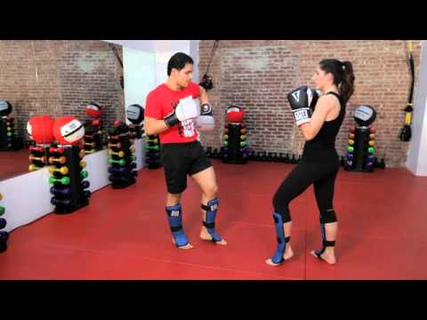 How to Do a Body Block  Kickboxing Lessons  Howcast