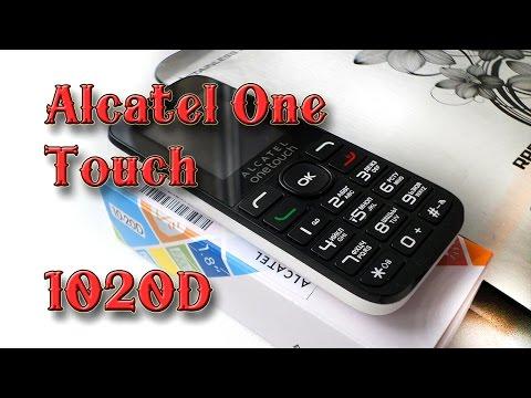 Обзор телефона Alcatel One Touch-1020D