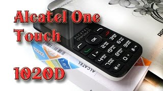 aLCATEL ONE TOUCH 1020D ОБЗОР