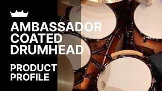 Remo: Ambassador® Coated Drumhead