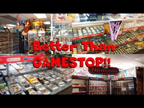 Amazing Retro Video Game Store Tour! (Video Game X-Change)