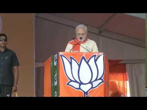 PM Shri Narendra Modi addresses public meeting in Chitradurga, Karnataka : 06.05.2018