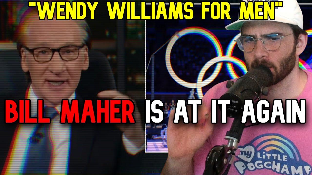 """Hasanabi reacts to Bill Maher """"Woke Olympics"""""""