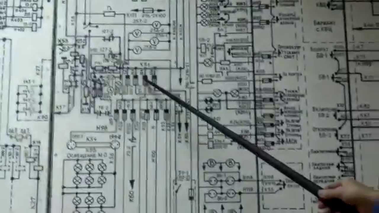 принципиальная электрическая схема вл10
