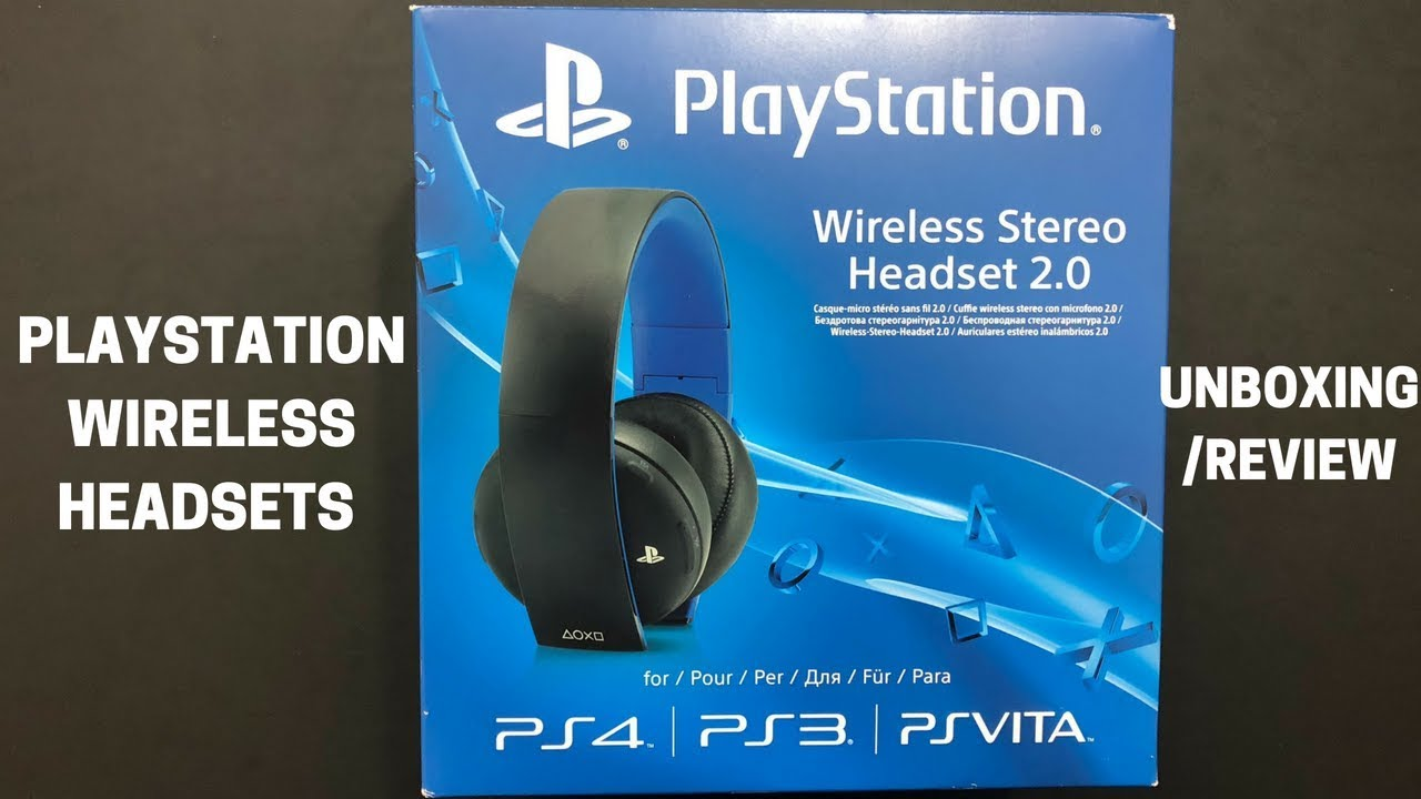 Sony Gold Wireless Headsets  Playstation Gold Wireless Ps4 Headset Unboxing 174a2f8470f3