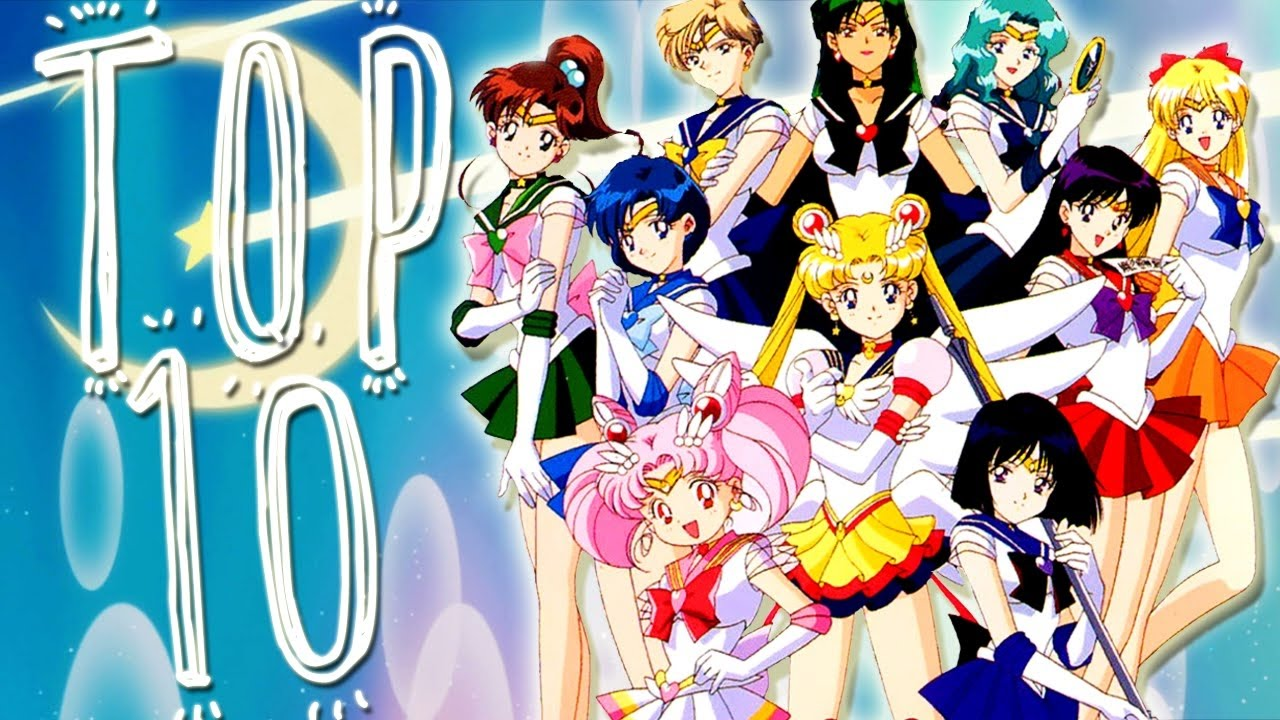 characters Anime sailor moon