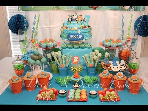 Octonauts Party Via Little Wish Parties Childrens Party