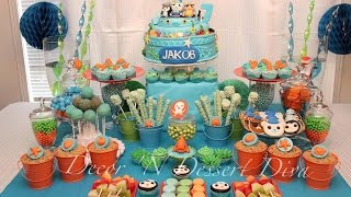 Octonauts Party via Little Wish Parties childrens party blog