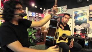 yamaha a3m rosli mansor introduces yamaha s ac3r a3m acoustic guitars