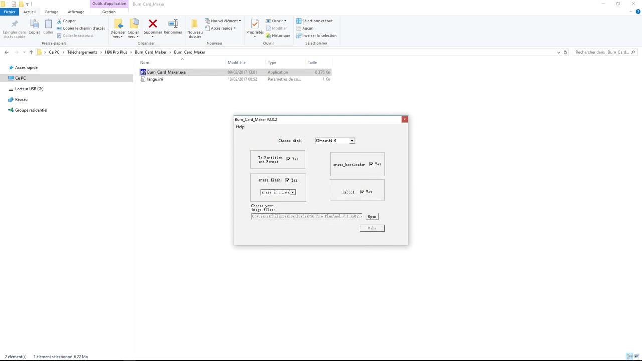 Mise à jour firmware Box Tv H96 Pro plus – Melmac – Infos et