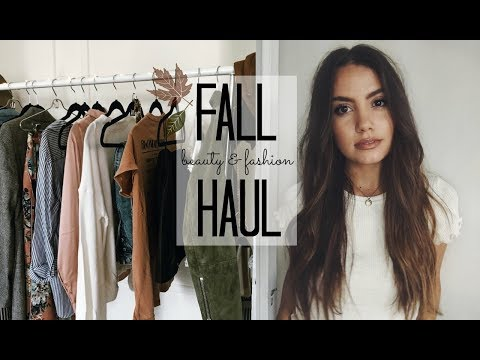 PRE FALL HAUL  Beauty & Fashion!