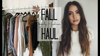 PRE FALL HAUL | Beauty & Fashion!