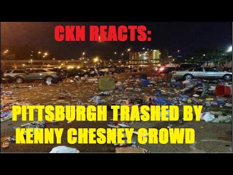 CKN Reacts to KENNY CHESNEY fans trashing Pittsburgh After Concert