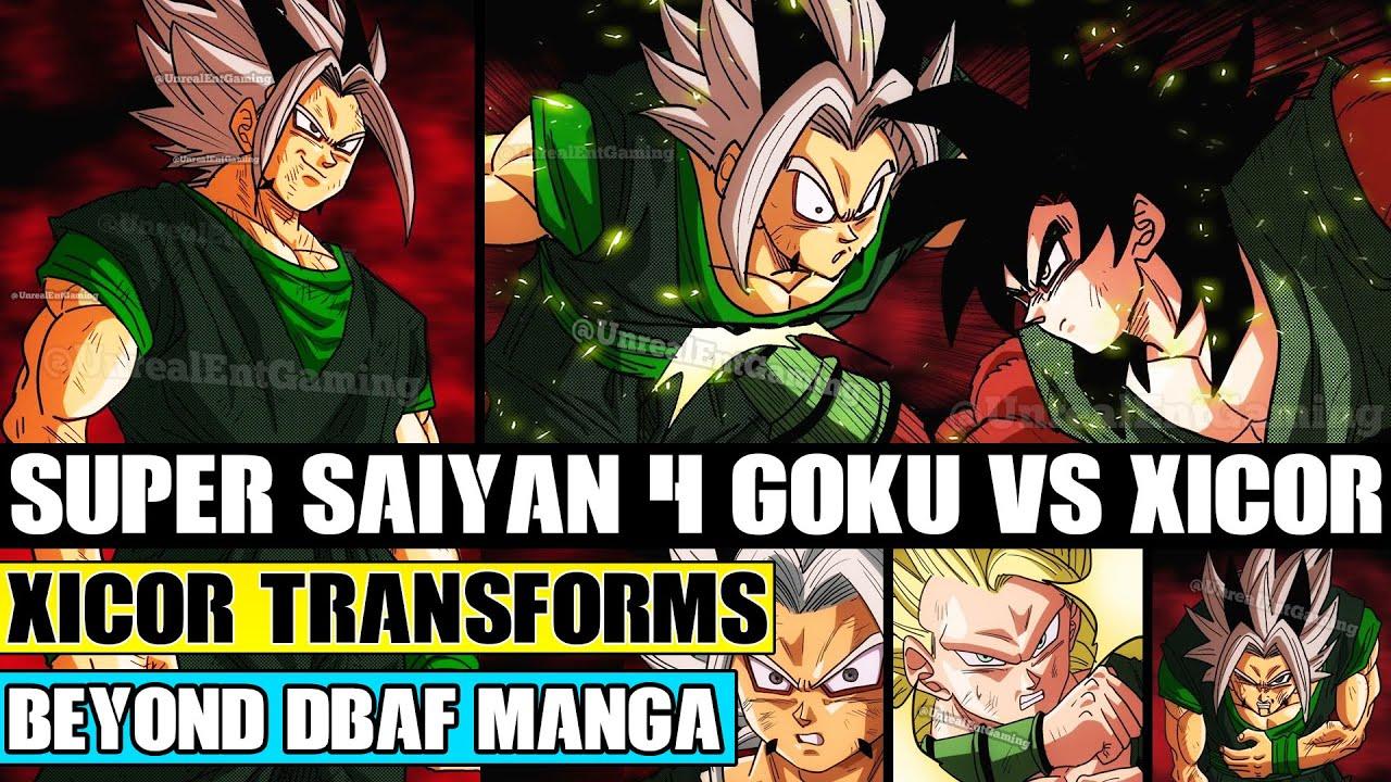 Beyond Dragon Ball AF: Super Saiyan 4 Goku Vs Xicor! Xicors Reveals His NEW Transformation!