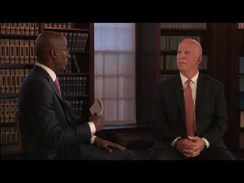 NYPD Commissioner James P. O'Neill with Jason Wingard