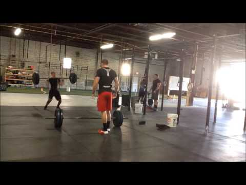 CrossFit Equity: 2016 Team Series Event 7 - K= MC^2