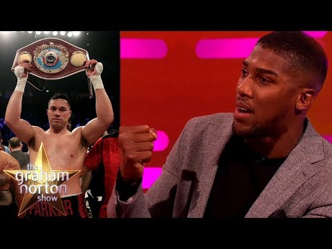 Download Youtube: Anthony Joshua Discusses His Fight with 'Pie Eater' Joseph Parker! | The Graham Norton Show