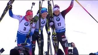 """Biathlon - """"Ruhpolding 2019"""" - Massenstart Damen / Mass Start Women"""