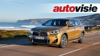 BMW X2 xDrive 20d (2018) - Test - Autovisie TV