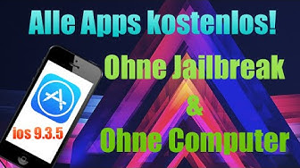 Alle Apps kostenlos bekommen iOS 9 - 9.3.5 - Ohne Computer/Ohne Jailbreak