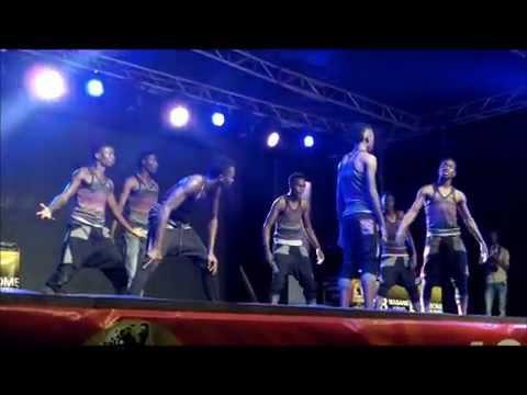 Washindi wa Serengeti Dance La Fiesta Mwanza performing live on Serengeti Fiesta stage 9-08-2014