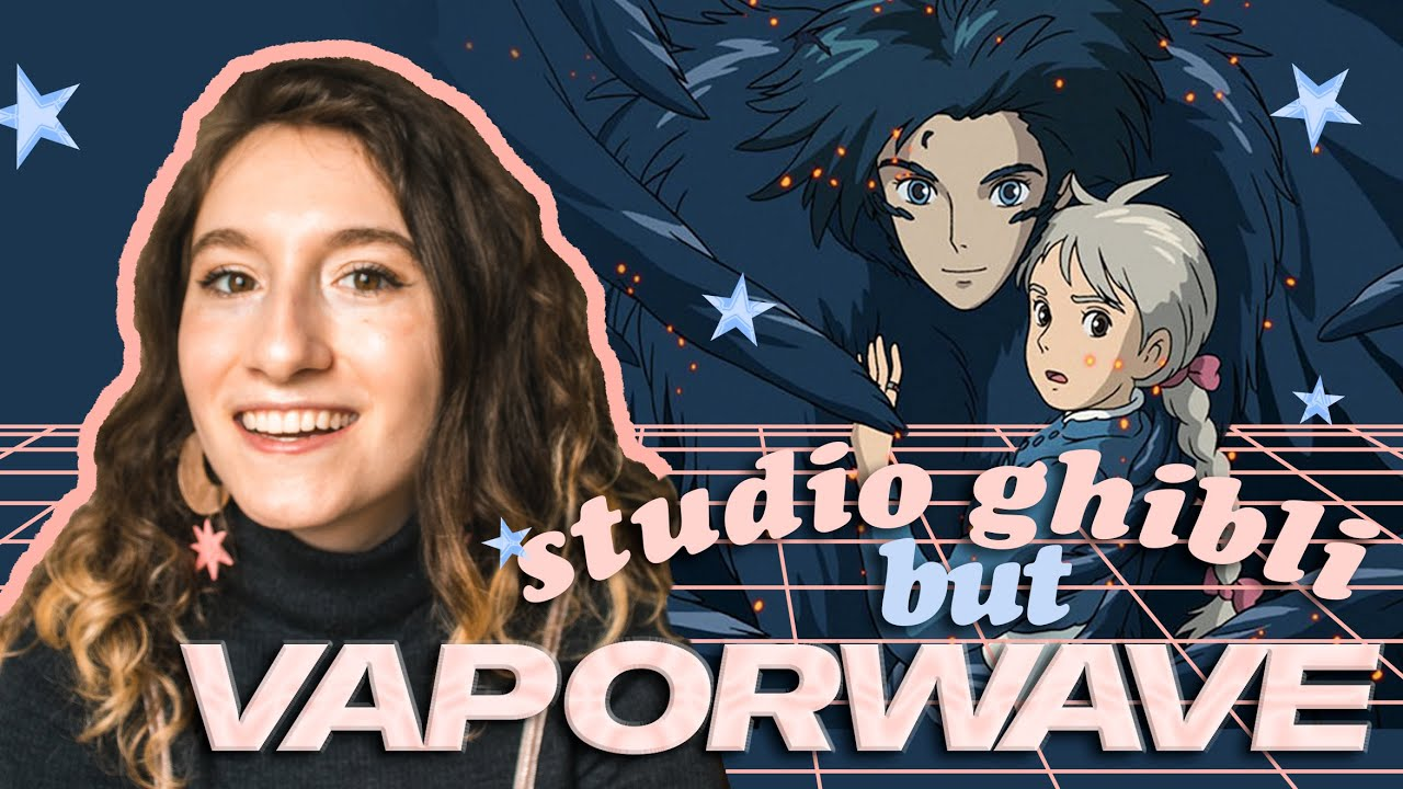 Studio Ghibli Redesigned As Vaporwave Art Painting Studio Ghibli Scenes Youtube