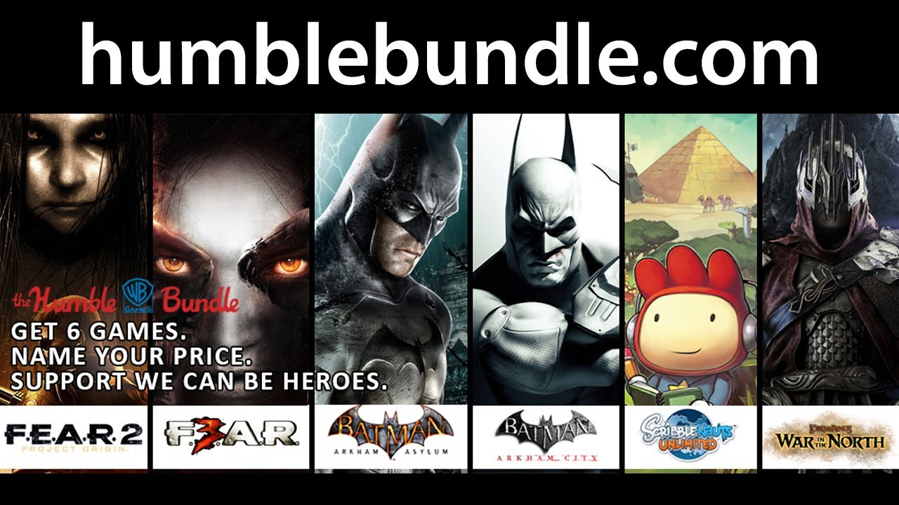 Humble Wb Games Bundle Youtube
