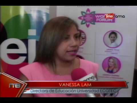 Universidad Ecotec realizó Women Forum emprendimientos, experiencias laborales y personales