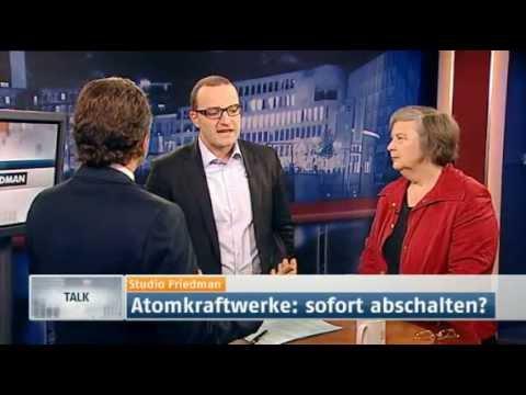 Studio Friedman: Atomkraftwerke sofort abschalten? (Sendung vom 24.03.2011)