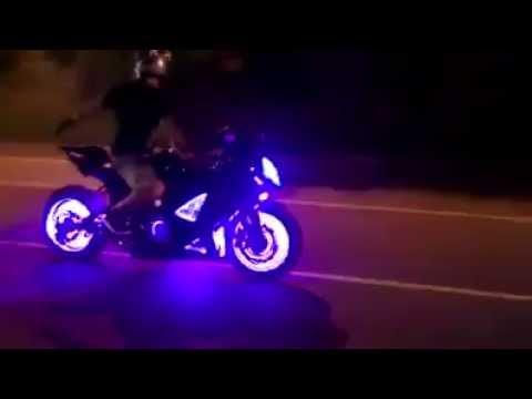 Sistema de luces led para rines de motos varios colores envios mundial youtube - Focos led con luces de colores ...