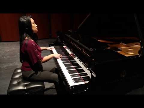 Charisse Baldoria plays Oblivion by Piazzolla (arr. for solo piano by Kyoko Yamamoto)