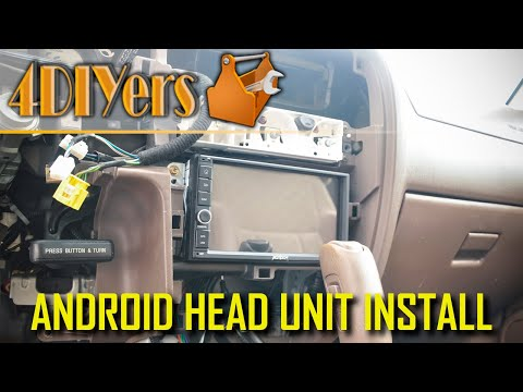 How To Install A Double Din Radio In A Toyota Tacoma