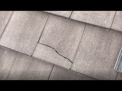 Replacing Some Concrete Roof Tiles Youtube