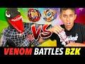 Funny Beyblade Battle!  BZK Vs VENOMous Beast