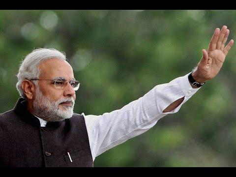 "PM Modi at Inauguration of ""Mission Bhagiratha"" in Gajwel, Telangana"