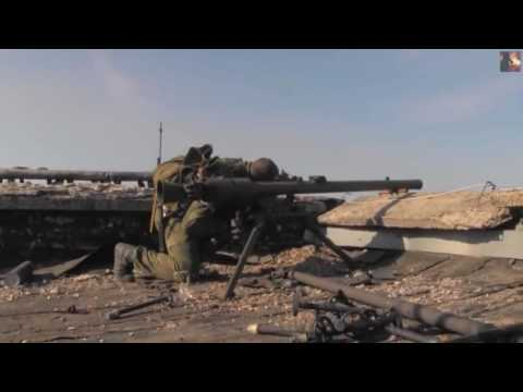 War | War in Ukraine. Pro Russian Rebels In Heavy Combat Action During Clashes With Ukrainian Army