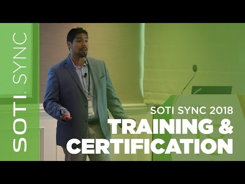 SOTI SYNC 2018: Training & Certification