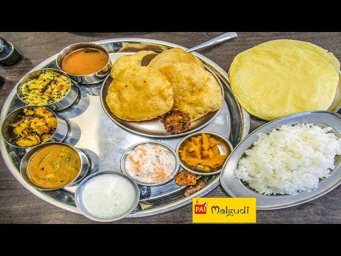 SAPAAD - South Indian Thali ₹165 @ Pai's Malgudi ,Ballygunj Kolkata || Episode #29