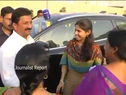 Minister Bhuma Akhila Priya meets with CM Chandrababu Naidu on Nandyala By Election