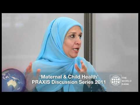 World Bank Praxis Discussion Series: Maternal and Child Health