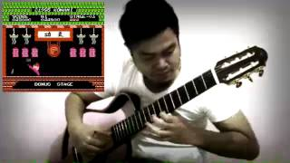 【 Yie Ar Kung Fu - Theme】Classical Fingerstyle Guitar Cover