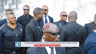 Exclusivité: arrivée de Koffi OLOMIDE le vieux ebola à la morgue pour voir le corps de Babia NDONGA